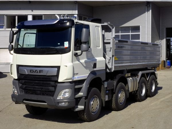 DAF CF 480 FAD Construct - Truck with body